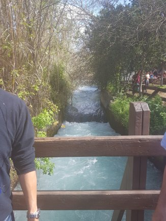 Largest karst spring in the Middle East