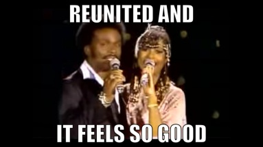 Image result for reunited and it feels so good