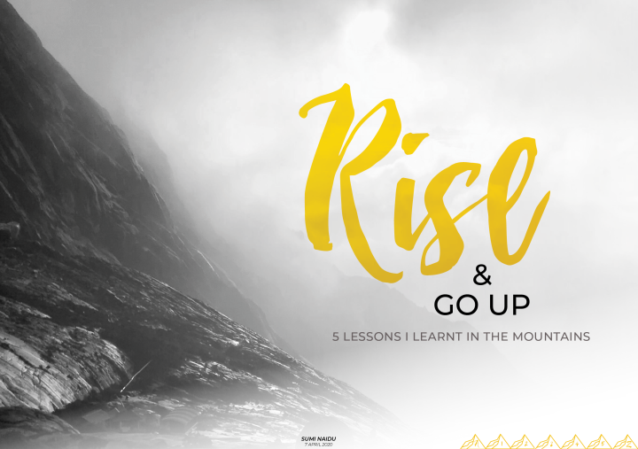 Rise and Go Up front cover